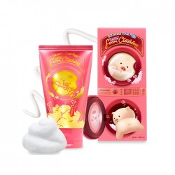 Пенка для умывания Elizavecca Clean Piggy Pinkenergy Foam Cleansing, 120 мл