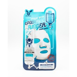 "Маска для лица Elizavecca ""Aqua Deep Power Ringer Mask Pack"", тканевые, увлажнение"