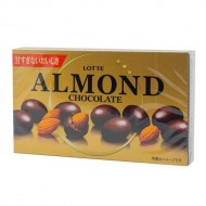 "Миндаль в шоколаде Lotte ""Almond Chocolate"", 86 гр."