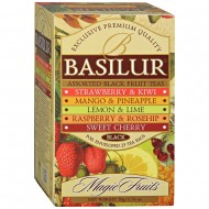 "Чай Basilur ""Magic Fruits"", ассорти, 25 шт, 100 гр."