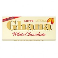 "Шоколад Lotte ""Ghana, White Chocolate"", белый, 45 гр."